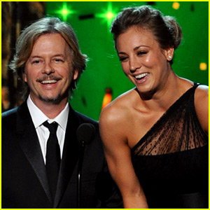 Are Kaley Cuoco & David Spade a