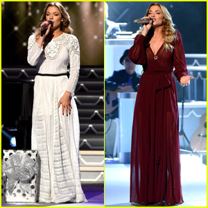 LeAnn Rimes Celebrates Christmas Early With CMA in Nashville