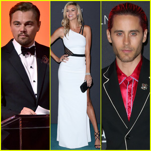 Leonardo DiCaprio Gets Support From Girlfriend Kelly Rohrbach at LACMA Gala 2015