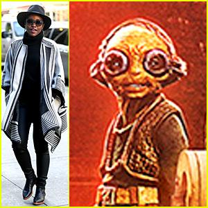 Lupita Nyong'o Finally Talks About Her 'Star Wars' Character