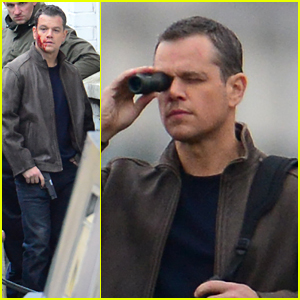 Matt Damon Gets Bloody on Untitled 'Bourne' Set
