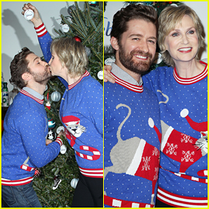 Matthew Morrison & Jane Lynch Sing The 12 Stinks of Christmas - Watch Here!