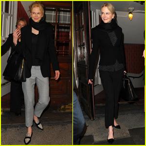 Nicole Kidman Steps Out Amid 'Wonder Woman' Rumors