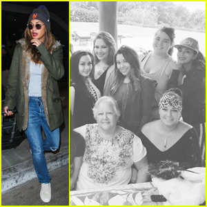 Nicole Scherzinger Jets to Hawaii for Thanksgiving With Family