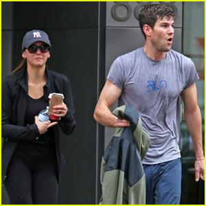 Nina Dobrev Works Up a Sweat With Boyfriend Austin Stowell