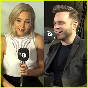 Olly Murs Fails at Flirting with Jennifer Lawrence in Funny Video