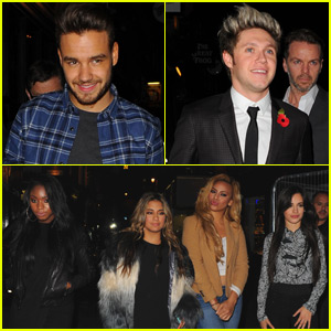 One Direction & Fifth Harmony Meet Up for Fun in London