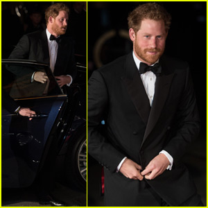Prince Harry Meets One Direction & Little Mix at Royal Variety Performance
