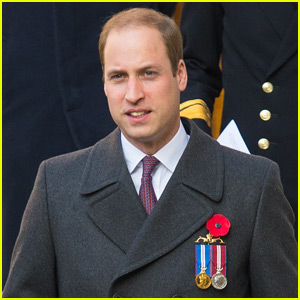 Prince William Attends Submariners' Remembrance Service