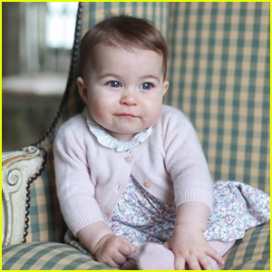 Royal Family Releases Cute New Photos of Princess Charl