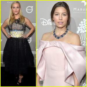 Reese Witherspoon & Jessica Biel Support Baby2Baby at Their Annual Gala