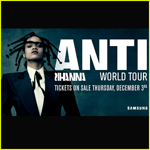 Rihanna Announces 'Anti World Tour' 2016 - Full List of Dates!