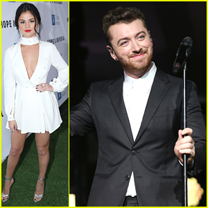 Selena Gomez & Sam Smith Step Out For City of Hope Gala 2015