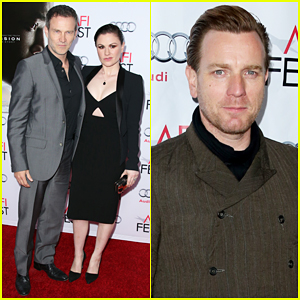 Stephen Moyer & Anna Paquin Couple Up for 'Concussion' Premiere!