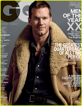 Tom Brady's 'GQ' Man of the Year Interview Turns Awkward When Asked About Deflategate