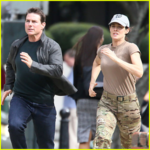 Tom Cruise Runs for His Life on 'Jack Reacher 2' Set