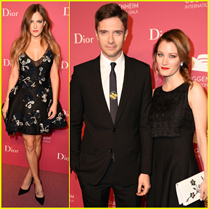 Topher Grace, Riley Keough & More Put On Their Best At Guggenheim  International Gala Pre-Party. >