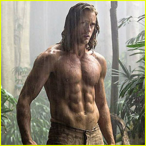 Alexander Skarsgard Puts Killer Abs on Display for First 'Legend of Tarzan' Trailer & Stills!