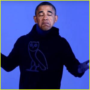 Barack Obama Sings Drake's 'Hotline Bling'