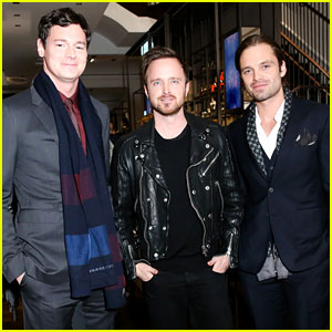 Benjamin Walker & Sebastian Stan Step Out in Style for Burberry