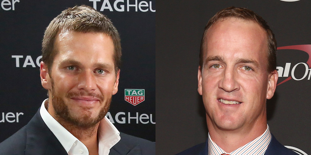 Tom Brady Supports Peyton Manning Amid HGH Accusations