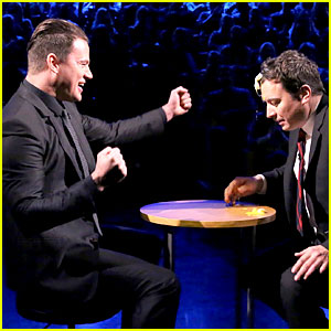 Channing Tatum Plays Egg Russian Roulette with Jimmy Fallon!