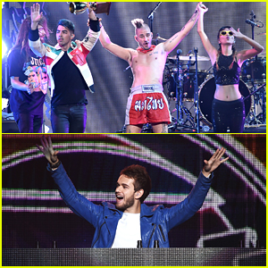 DNCE & Zedd Keep The Party Going At Jingle Ball LA 2015