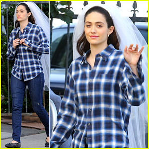 Emmy Rossum is Proud of Fiance Sam Esmail's Golden Globe Nomination