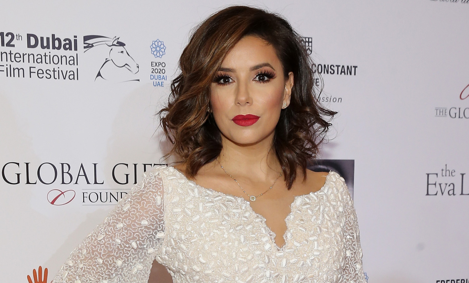 Eva Longoria Steps Out Global Gift Gala Before