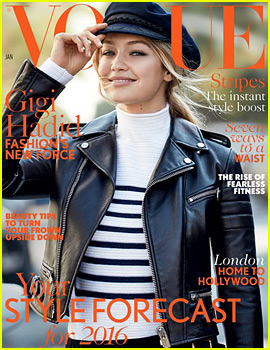 Gigi Hadid Makes Her 'British Vogue' Debut -- See Her First Cover!