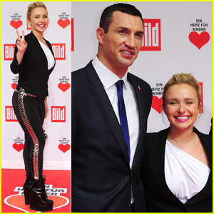 Hayden Panettiere & Wladimir Klitschko Couple Up in Berlin