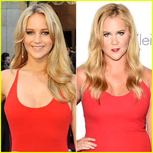 Jennifer Lawrence & Amy Schumer Want the Same Golden Globes Dress!