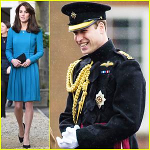 Kate Middleton Visits Action for Addiction Charity, Prince William Presents Medals In Aldershot!
