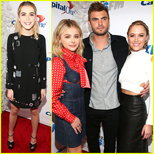 Kiernan Shipka & Chloe Moretz Party It Up at Jingle Ball LA 2015