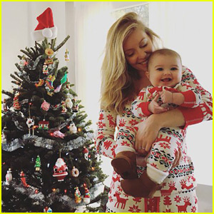 Leah Jenner Shares Photo from Baby Eva's First Christmas!