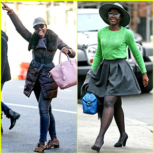 Lupita Nyong'o Looks Like She's Having the Best Sunday Ever!