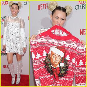 Miley Cyrus Rocks Braided Bun Pigtails in the Big Apple | Bill ...