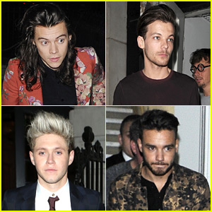 One Direction Guys Party Together After Final Pre-Hiatus Performance