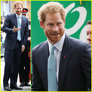 Prince Harry Visits Mildmay Hospital In Support Of Mother Princess Diana!