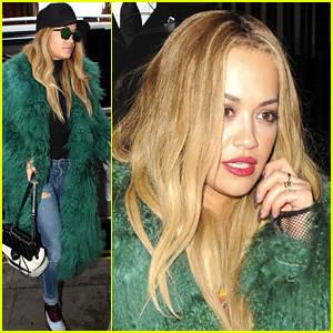 Rita Ora Looks Smokin' Hot For Her Latest Elle Magazine Spread