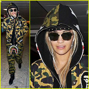 Rita Ora Returns Home After Conquering Food Poisoning & Jet Lag