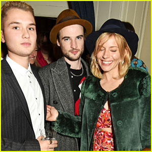 Sienna Miller Reunites with Tom Sturridge, Hangs Out with Ex Jude Law's Son