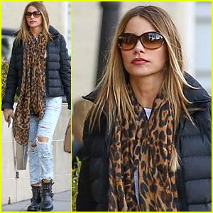 Sofia Vergara Runs Errands After Celebrating Hubby Joe Manganiello's Birthday