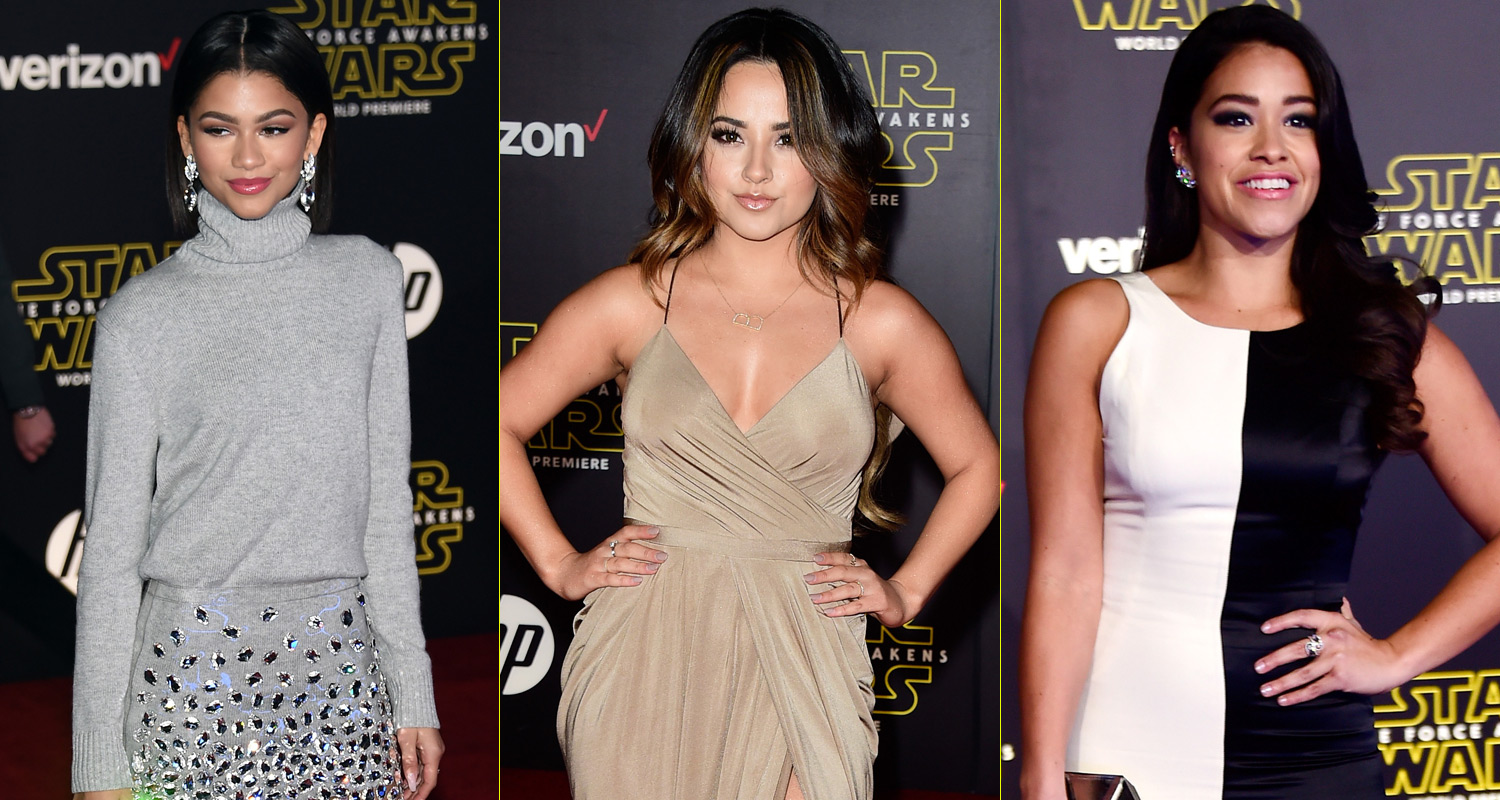 Star Wars: The Force Awakens' Storms Hollywood for Epic World Premiere ...