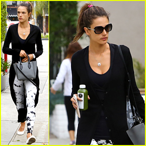 Alessandra Ambrosio Breaks A Sweat After Yoga