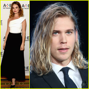 Lily James & Austin Butler Both Hit Up Winter TCA Tour 2016