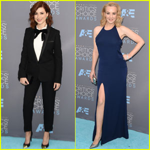 Aya Cash & Wendi McLendon-Covey Represent TV Comedy Actresses at Critics' Choice Awards 2016