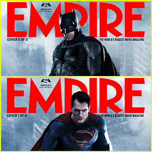 Henry Cavill & Ben Affleck Cover 'Empire' as Superman & Batman