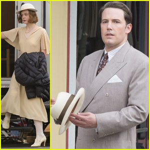 Ben Affleck Continues Filming 'Live By Night' With Elle Fanning