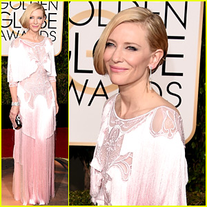 Cate Blanchett Is Gorgeous in Givenchy at Golden Globes 2016!